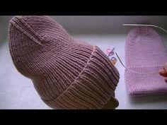 Вязаная шапка тыковка с интересной макушкой. - YouTube