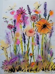 Im starting to love the whimsy of water colors now to just locate my whimsical side and get painting.