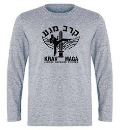 krav maga sleeve gray t-shirt.Great quality for low prices,13.99$ only #mma vmaga#kravmagatraining#mma#sports #sportswear #sportgifts#bjj#kravmagastore