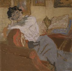 Madame Hessel au Sofa, 20th century and contemporary - Walker Art Gallery…