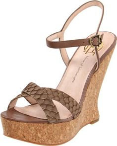 d8d8682a4cc84c House of Harlow 1960 Women s Pat Wedge Sandal