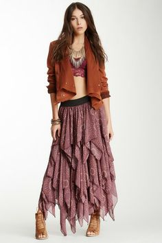 Tutu Printed Layered Skirt by Free People on @HauteLook