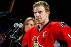 The greatest man in Ottawa. Daniel Alfredsson, Who Plays It, National Hockey League, Hockey Players, Ottawa, A Team, Nhl, Athlete, Canada
