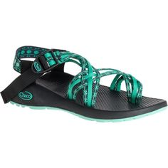 Chaco ZX/3 Classic Sandal ($105) ❤ liked on Polyvore featuring shoes, sandals, chaco footwear, buckle sandals, buckle strap shoes, chaco and adjustable strap sandals