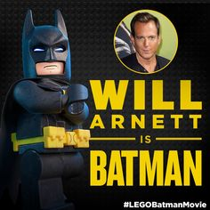 That Bat-voice, tho. #LEGOBatmanMovie #LEGO #Batman #DCComics #SuperHeroes #WillArnett