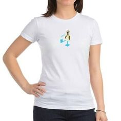 Blue-footed Booby Dance! Jr. Jersey T-Shirt - Brought to you by Avarsha.com
