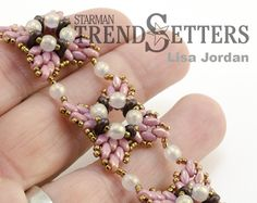 Deep Thoughts by Jill Handy: ROSE WINDOWS - Bracelet for Starman TrendSetters