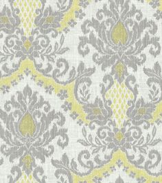 Home Decor Fabric-Waverly Bedazzle Silver Linning