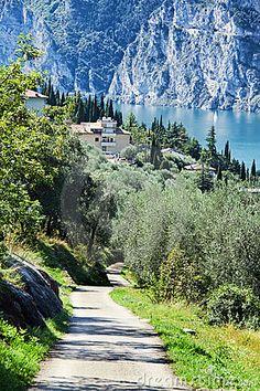 Lake Garda, Italy...no the train from Paris