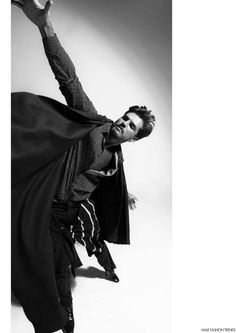 Diego Miguel para LEWIS Magazine No. 2 por Fernando Machado