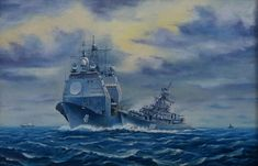 Ticonderoga Class, British Soldier, Armada, Army & Navy, Submarines, Military Art, Battleship, Armed Forces, Warfare