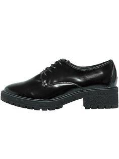 ONLY SHOES Schuhe mit kleinem Absatz., Lederoptik., 100 % Gummisohle., Polierte Optik.,   100% Polyurethan...