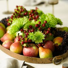 vegetable-centerpiece-display