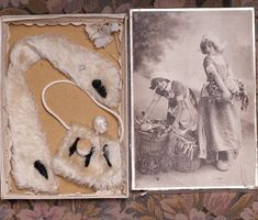 Collar and muff for doll