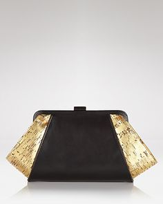 Z Spoke Zac Posen Clutch - Posen Leather Cork - New Arrivals - Boutiques - Handbags - Bloomingdale's