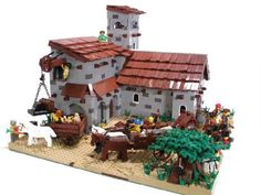 Colonial Town Center: A LEGO® creation by Regonold . : MOCpages.com