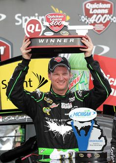 Dale Jr finally wins one!!!
