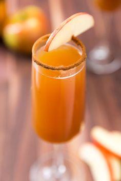 Apple Cider Mimosas  - Delish.com