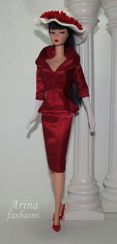 Silkstone Barbie in Arina fashions. by arina_fashions, via Flickr