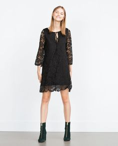 ZARA - WOMAN - LACE DRESS