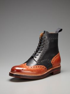 Sold out but awesome  Fred Derby Boots by Grenson up to 60% off at Gilt 219.00