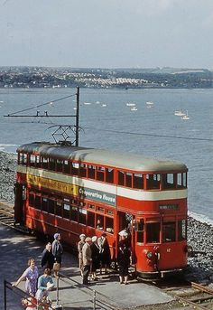 Swansea & Mumbles Car Wales / by Wales Uk, South Wales, Swansea Wales, Trains, Gower Peninsula, Tramway, Bonde, Bus Coach, Cars