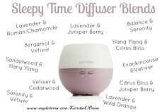 Try these essential oil diffuser blends for a long and restful night's sleep.