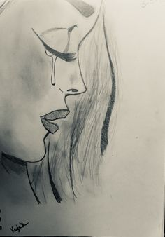 Art drawings, love drawings, beautiful drawings, easy drawings, drawing s. Easy Pencil Drawings, Pencil Sketch Drawing, Sad Drawings, Dark Art Drawings, Art Drawings Sketches Simple, Beautiful Drawings, Sketch Art, Drawing Ideas, Desenhos Halloween