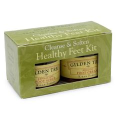 Time to relax. Cleanse & Soften (2 Step) Healthy Feet Kit #HealthyFeet #Clense #Soften #Footcare