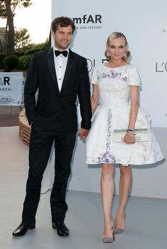 has to be chanel...    definitely is diane kruger