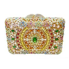 Luxury Diamond Crystal Evening Bag Ladies Clutch Bag_11     https://www.lacekingdom.com/