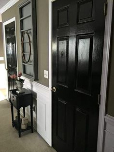 Our black interior doors | snazzy little things