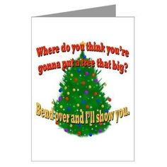 christmas vacation funny posts | Funny Griswold Christmas Tree Greeting Cards (Pk of 10) National ...