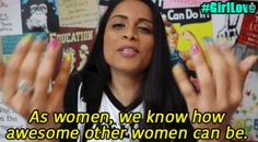 """Several YouTube stars, led by Lilly """"Superwoman"""" Singh, started a massive online movement to combat girl-on-girl hate. Join us!!"""
