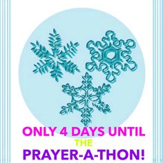 Only 4 days until our 6th Annual #12Days of #Christmas #Prayer-a-Thon!  Who's getting excited?!? We are!!! #Prayer #Praise #Ministry #Christian #Contests #Giveaways #Prizes #Friendship #Friends #Fellowship #Fun #Christmas #12Days #DGMPrayerAThon  www.tinyurl.com/2015PrayerAThon
