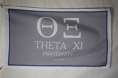 Theta Xi 0 College Fraternity Official Licensed Flag 3x5