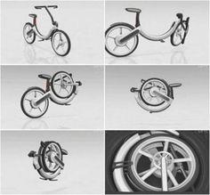 The Folding Bike – An Volkswagen Concept | www.prakticideas.com