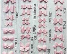 Diy Crafts - Felt Better Dolly Bow Stencils Alternative to Templates Making Hair Bows, Diy Hair Bows, Diy Bow, Pinwheel Bow, Bow Template, Templates, Handmade Hair Accessories, Handmade Hair Bows, Glitter Fabric