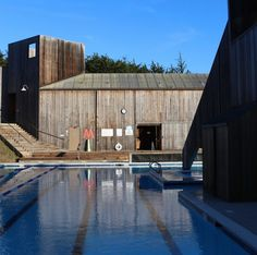Found at The Sea Ranch, California: gym as modern masterpiece. I spent three days at the most beautiful recreation center I'd ever seen: