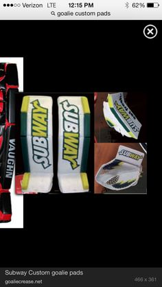 Custom Goalie Pads, Goalie Gear, Hockey, Field Hockey, Ice Hockey