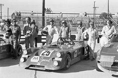 The Nick Craw - Bill Barber Chevron B-19 Ford that finished 20th in the 1972 12 Hours of Sebring