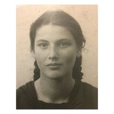 """Radical Women's History on Instagram: """"This photograph was taken of the French-Jewish resistance fighter DENISE VERNAY (1924–2013) in 1940, at the age of 16. The sister of Simone…"""" We Are Strong, Sisters, Age, Photograph, French, Instagram, Women, Photography, French People"""