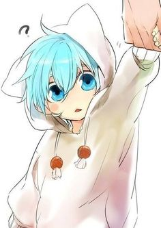 little kuroko o///o so adorable: