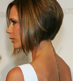 Victoria Beckham Bob Haircuts  I love this...but its to short for me!!