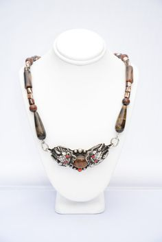 Buy Brown Double Dragon Necklace. Dragon Necklace. Dragon Pendant. Chinese Dragon Necklace. Fantasy Jewelry. Asian Jewelry. Tibet. Mens Jewelry by flashinfashinjewelry. Explore more products on http://flashinfashinjewelry.etsy.com