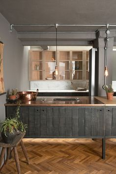 deVOL invites visitors to their London showroom to experience their beautifully crafted collaboration of kitchen furniture with woodcraftsman Sebastian Cox.