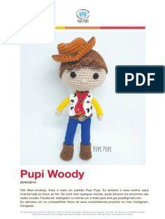 Crochet Doll Pattern, Crochet Toys, Crochet Patterns, Toy Art, Amigurumi Toys, Softies, Woody, Xmas Crafts, Diy Doll