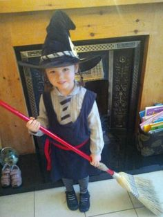 Ruth as Mildred Hubble, The Worst Witch by Jill Murphy for World Book Day