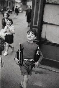 Rue Mouffetard, Paris by Henri Cartier-Bresson