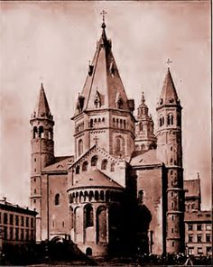Romanesque Architecture - Mainz Cathedral